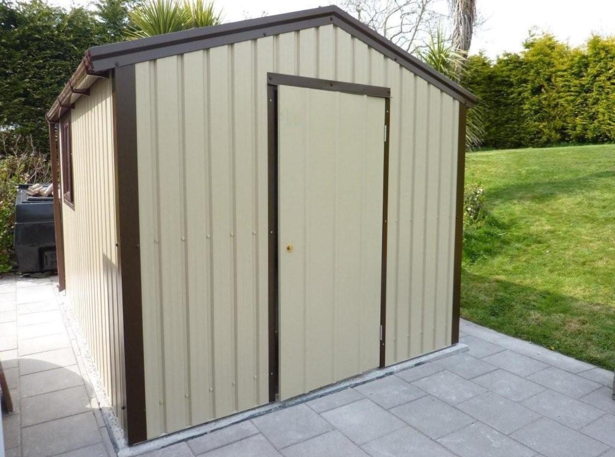 Comment construire le toit de votre abri de jardin